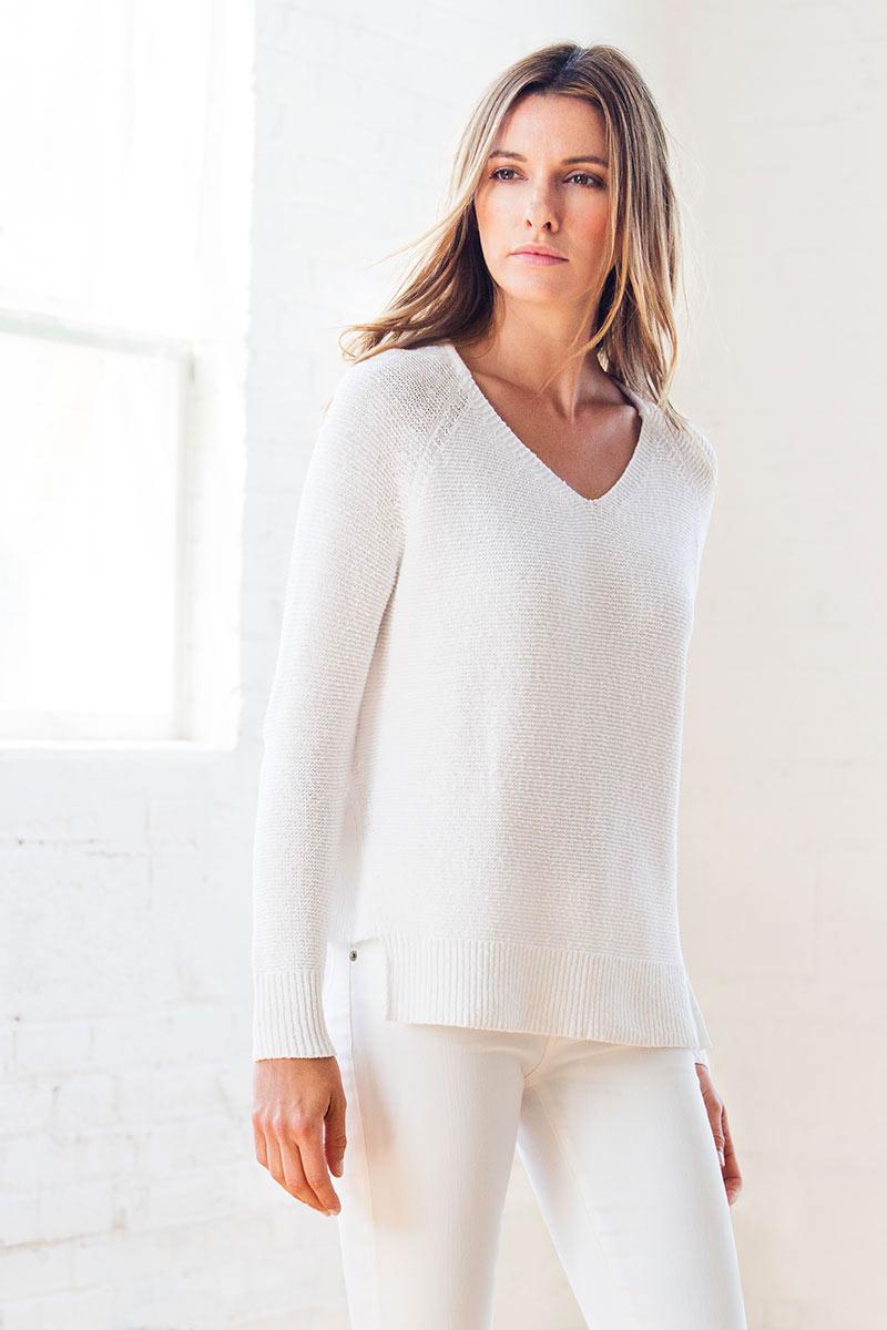 Women's 100% Chunky Cotton - Spring 2018 - Kinross Cashmere