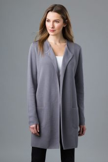 Double Knit Cardigan - Kinross Cashmere