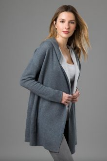 Reversible Hoodie - Kinross Cashmere