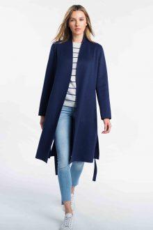 Belted Coat - Kinross Cashmere