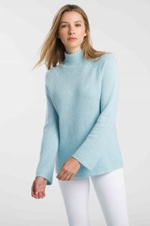 Textured Marled Funnel - Kinross Cashmere