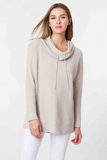 Thermal Pullover Hoodie - Kinross Cashmere