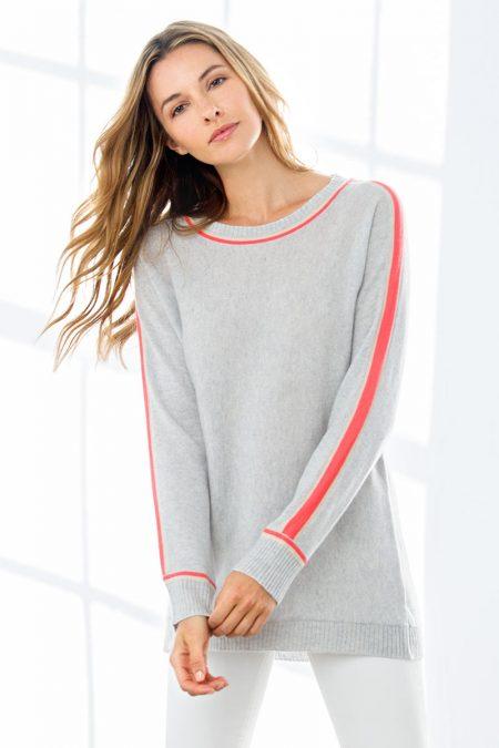 Color Play Sweatshirt - Kinross Cashmere