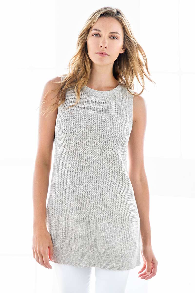 Textured Tunic - Kinross Cashmere