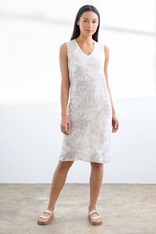 Tropical Camo Dress - Kinross Cashmere