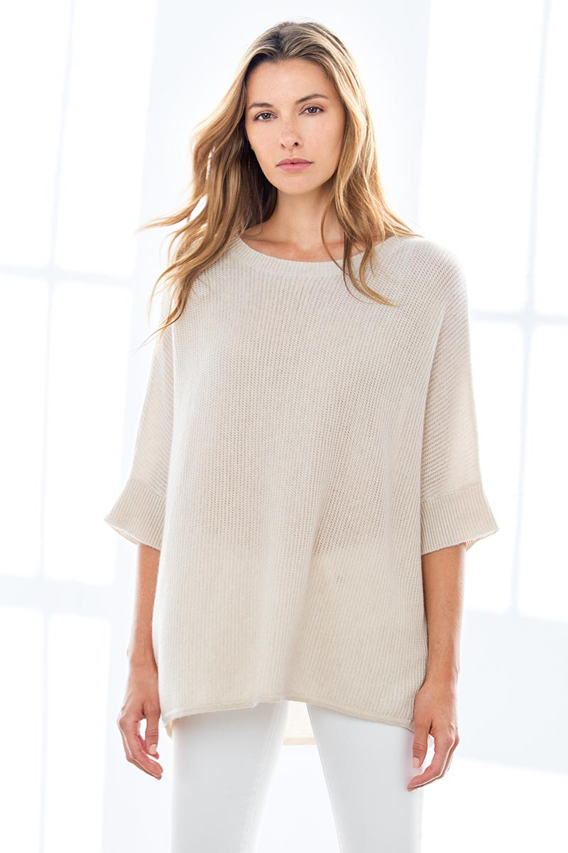 Textured Popover - Kinross Cashmere