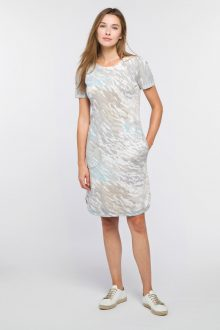 Surf Camo Dress - Kinross Cashmere