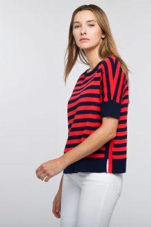 Bold Stripe Pullover - Kinross Cashmere