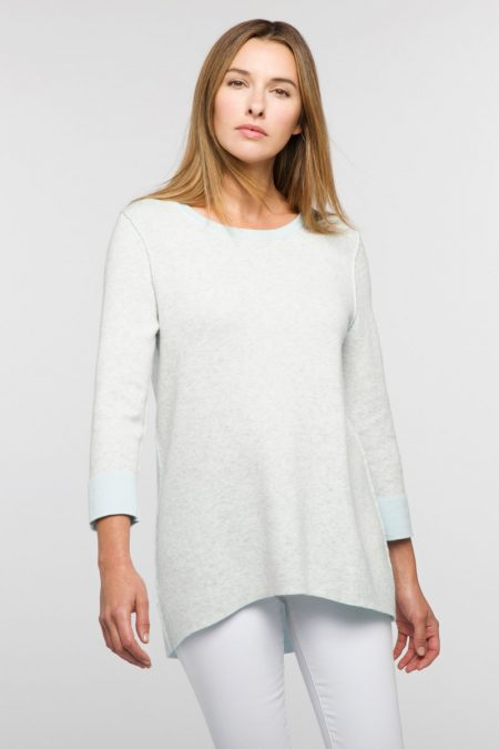 Reversible Swing Top - Kinross Cashmere