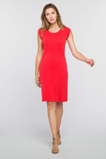 Sheath Dress - Kinross Cashmere