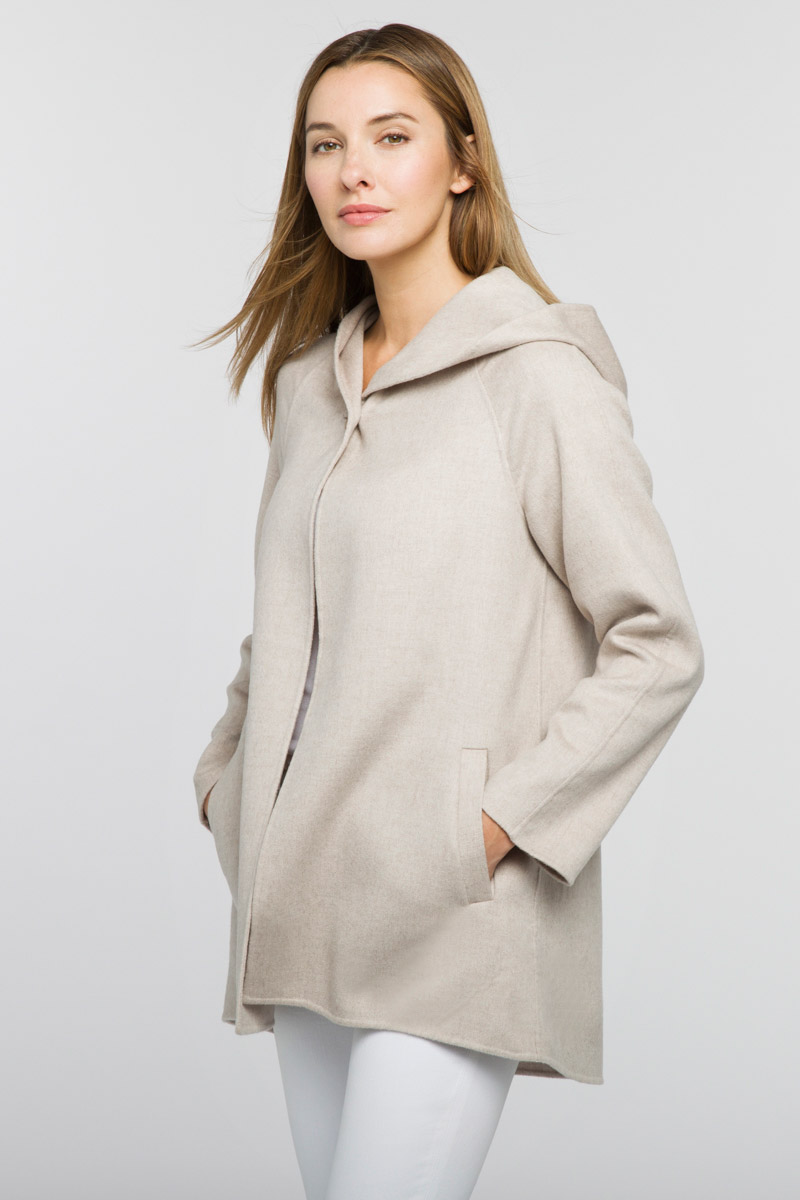 Hooded Jacket - Kinross Cashmere