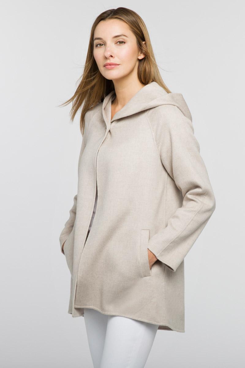 Hooded Jacket - Kinross Cashmere
