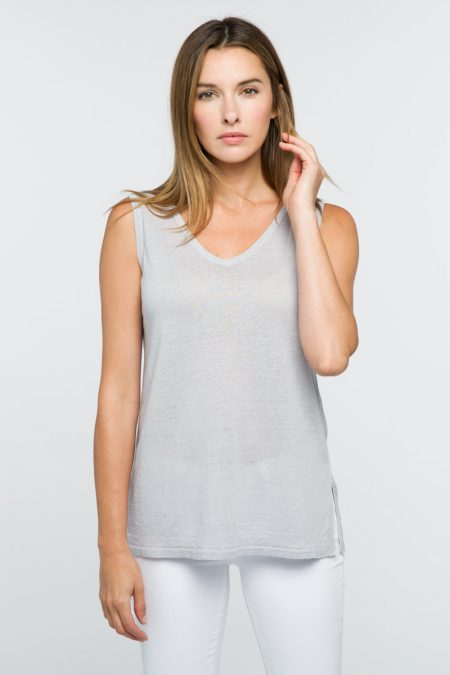 Front to Back Tank - Kinross Cashmere