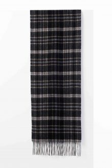 Solid Woven Scarf Kinross Cashmere