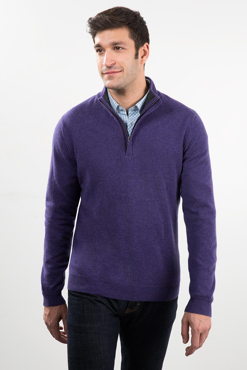 Men's Luxury Cashmere & Outerwear Kinross Cashmere