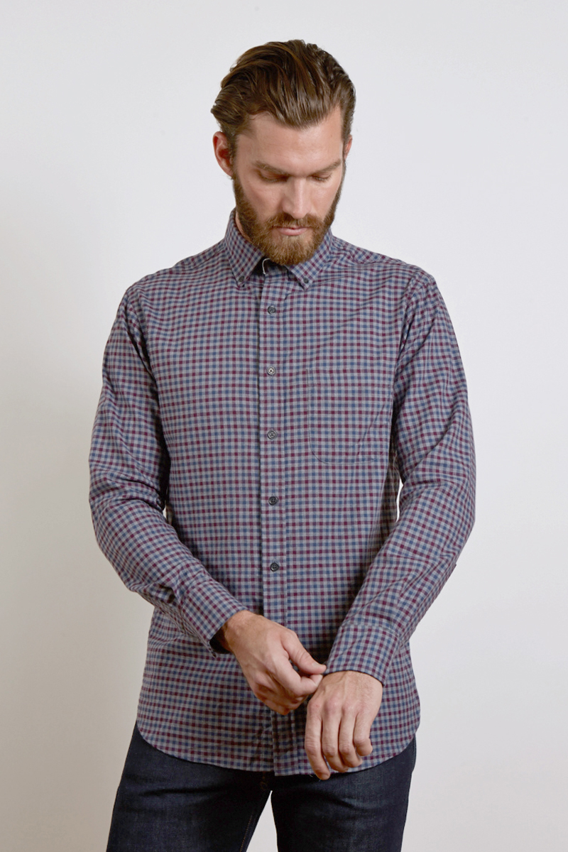 Men's Shirts - Fall 2017 - Kinross Cashmere - 100% Cashmere